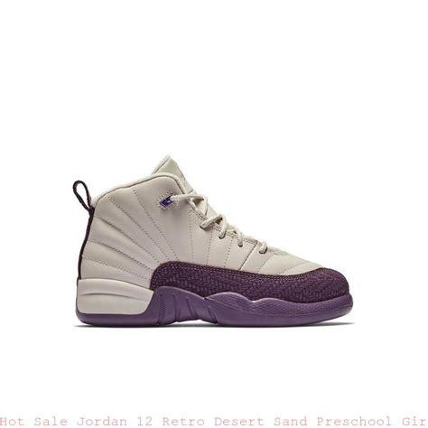 12 retro desert sand preschool shoe 160 | Hot Sale Jordan 12 Retro Desert Sand Preschool Girls Shoe cheap jordan shoes for men S0375 1