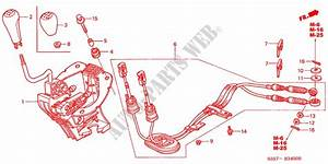 Shift Lever For Honda Cars Civic Type R 3 Doors 6 Speed Manual 2001   Honda Cars