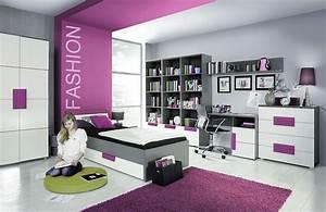 Möbel Für Jugendzimmer : forte libelle jugendzimmer wei grau violett m bel letz ihr online shop ~ Buech-reservation.com Haus und Dekorationen