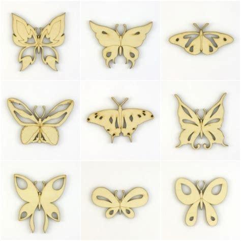 loisirs cr 233 atifs 9 papillons en bois d 233 coup 233 et ajour 233