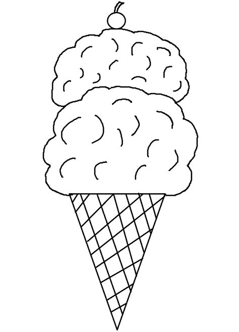 printable ice cream cone coloring pages art teacher
