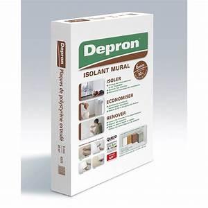 Plaque Isolante Mur : carton de 10 plaques mur depron x mm ep 6 mm ~ Melissatoandfro.com Idées de Décoration