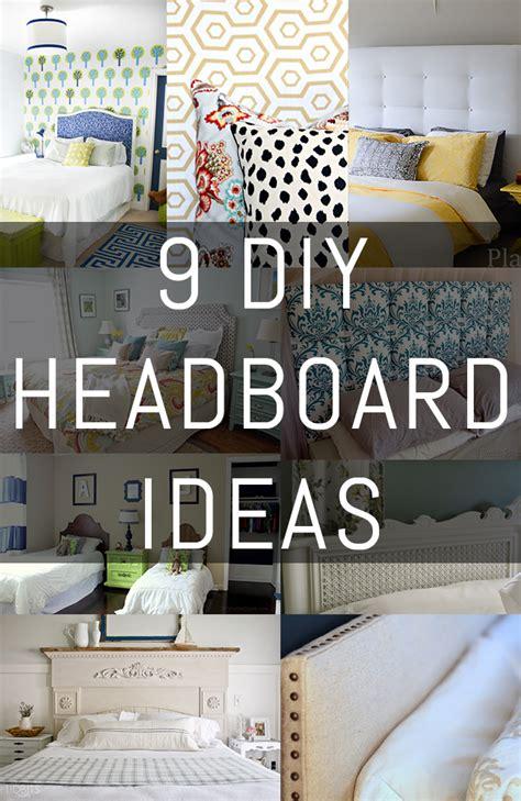 Ideas For Diy Headboards by 9 Diy Headboard Ideas Erin Spain