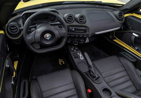 2019 Alfa Romeo 4c Spider Coming To The Us Release Date