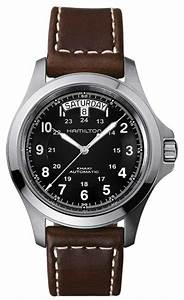 Hamilton Mens Khaki Field King Auto Watch H64455533