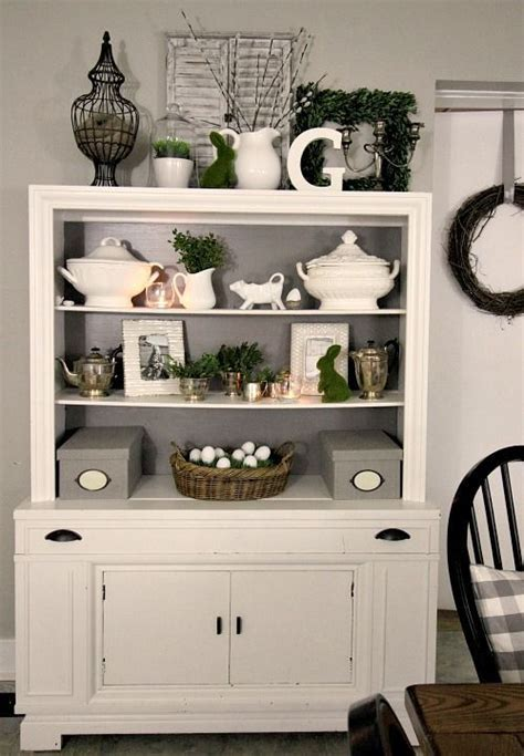Cabinet Decoration Ideas - 1000 ideas about hutch decorating on china
