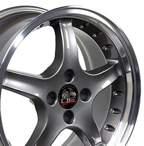 Ford® Mustang® 4lug Cobra R Style Replica Wheels