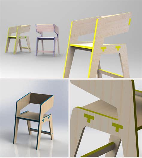 tee chair  behance chairs   furniture design