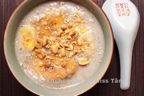 bananes au lait de coco et perles de tapioca ch 232 chuối chuối chưng la kitchenette de miss