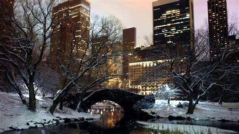 nyc winter scenes wallpaper  images