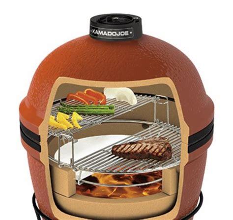 kamado big joe  large outdoor ceramic grill smoker