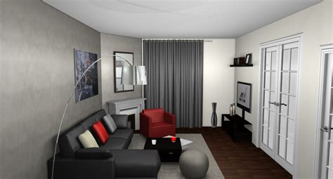 d 233 coration salon appartement moderne