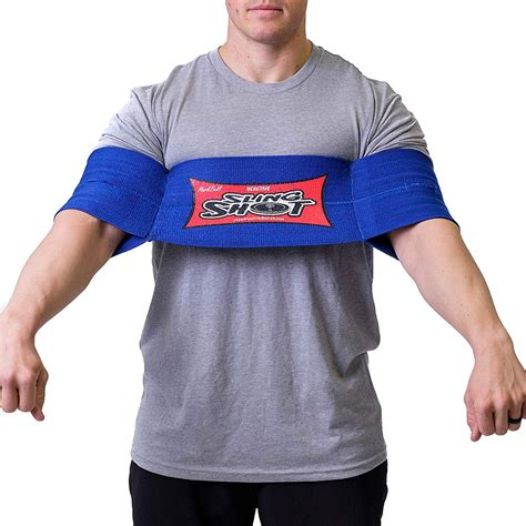 Sling Shot Reactive Power Lifting Band By Mark Bell Blue