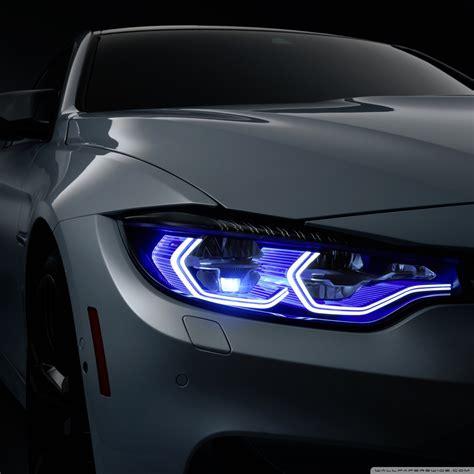 Bmw Xenon Headlights 4k Hd Desktop Wallpaper For • Dual