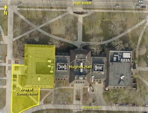 construction renovation parking  coming  campus