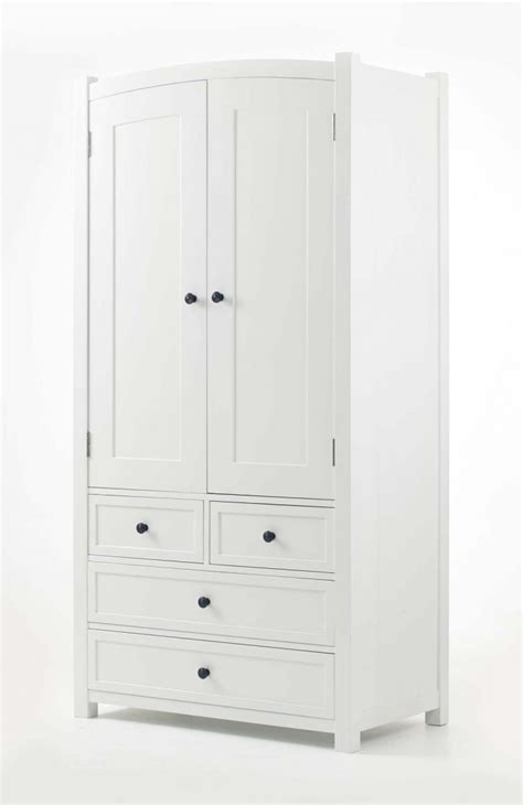 White Wardrobe With Drawers by 15 The Best Large White Wardrobes With Drawers