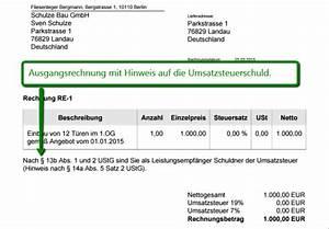 Reverse Charge Rechnung Muster : sage one update rechnungen nach 13 b ustg sage one ~ Themetempest.com Abrechnung
