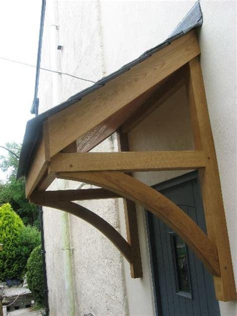 quality woodworks oak door canopy  front door