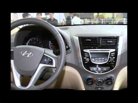 hyundai accent interior youtube