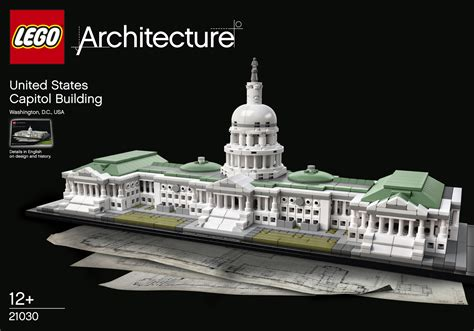 The Latest Lego® Architecture Set The Us Capitol