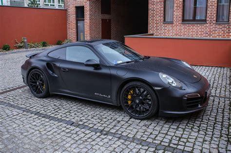 black porsche 911 turbo stunning matte black porsche 911 turbo s gtspirit