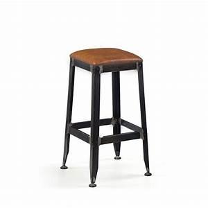 Tabouret De Bar Metal : tabouret de bar lounge rambler by drawer ~ Teatrodelosmanantiales.com Idées de Décoration