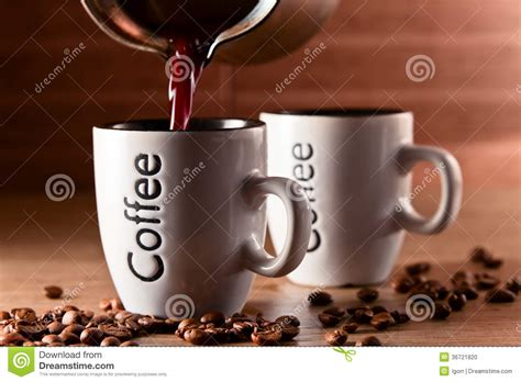 Hot Morning Coffee Stock Photo   Image: 36721820