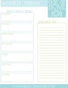 Basketball Sheet Template Excel Free Printable Weekly Meal Menu Planner With Grocery List A For My Kitchen Juxtapost