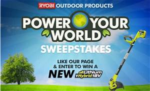 Www Mon Bonus Ryobi Com : ryobi outdoor products power your world sweepstakes win ~ Dailycaller-alerts.com Idées de Décoration