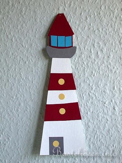 kreativ  den sommer fensterbild leuchtturm