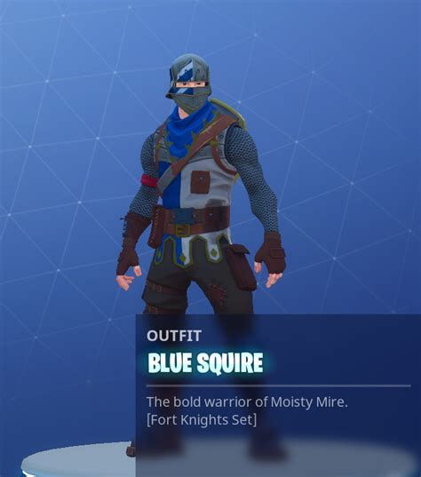 blue squire fortnite outfit skin    unlock