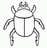Coloring Beetle Pages Beetles Printable Swat Words Animals Dibujo Afkomstig Van Elephant sketch template