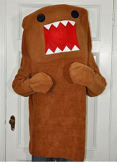 Domo Costume Halloween Costumes Mockery Three Adult