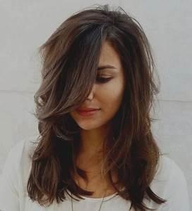 Coupe Cheveux Longs Femme : coupe de cheveux 2018 mi long femme ~ Dallasstarsshop.com Idées de Décoration
