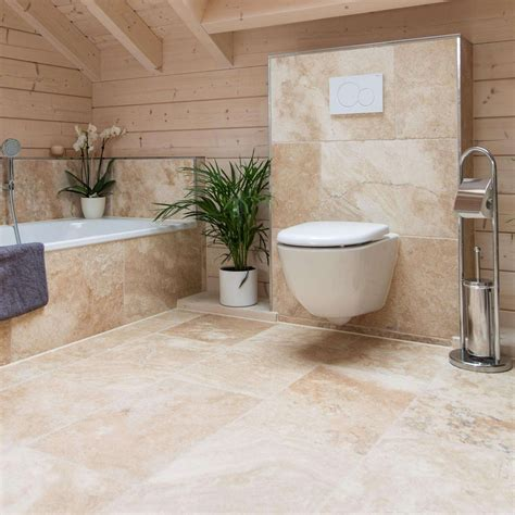 natural stone tiles   solution  bathroom floors