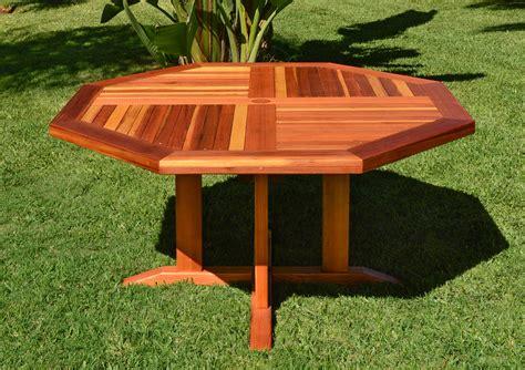 helen s octagonal terrace tables