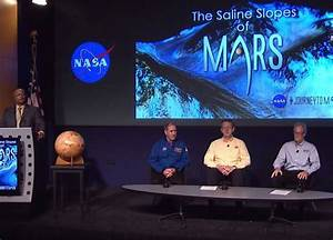 NASA News Conference - Water Flows on Mars Today - SpaceRef