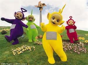 teletubbies    fearne cotton