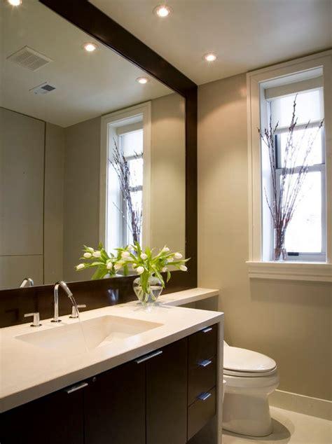 Diy Bathroom Mirror Frame Ideas  Interior Design Ideas