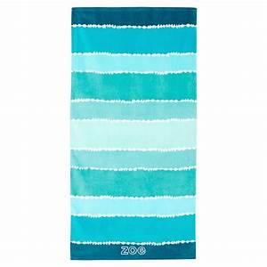 Tie Dye Stripe Beach Towel, Pool PBteen