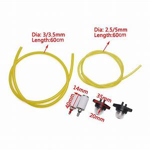 2 Fuel Line Filter Primer Bulbs For Craftsman Poulan Chainsaw Blower Trimmer New