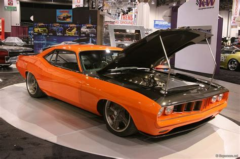 Tricked Out Classic Muscle Car