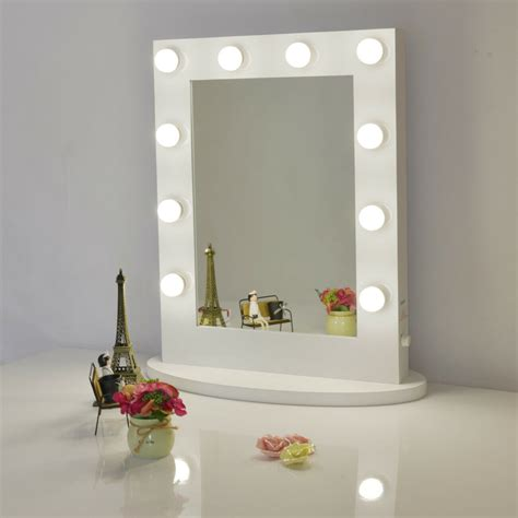 L For Mirror by Chende Vanity Mirror With Lights For Dressing Table