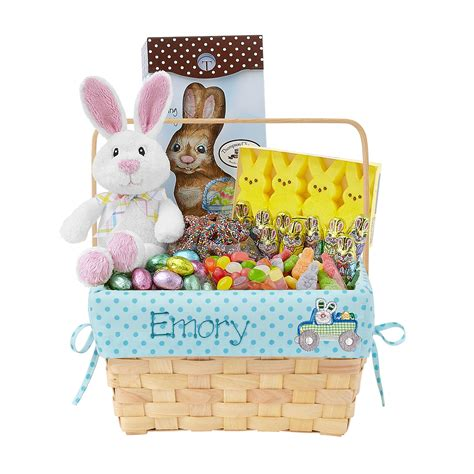 Personal Creations Personalized Embroidered Easter Baskets