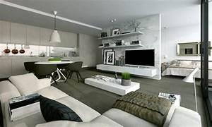 Pice De Vie Moderne Dans Un Petit Appartement De Ville