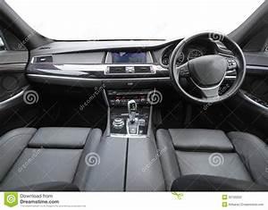 Inside A Car Stock Image  Image Of Handbrake  Transport