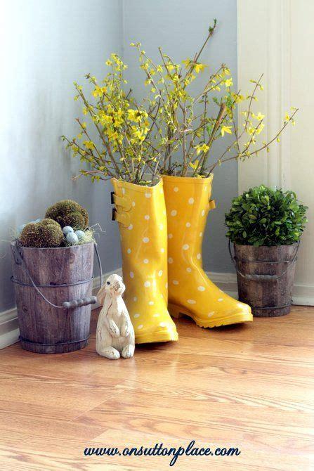 rain boot vase dorms decor rain boot  dorm