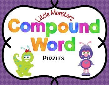 compound word activities  images compound words