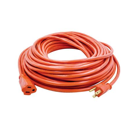 home depot l cord hdx 80 ft 16 3 light duty indoor outdoor extension cord