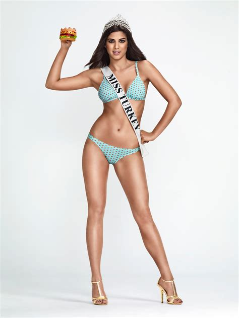 Carl's Jr. and Hardee's Auction off Miss Turkey's Bikini ...